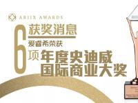 爱睿希荣获6项年度史迪威国际商业大奖